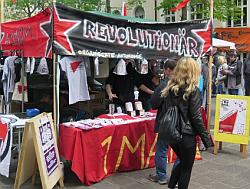 Strassenfest am 1 Mai in Nürnberg Gostenhof