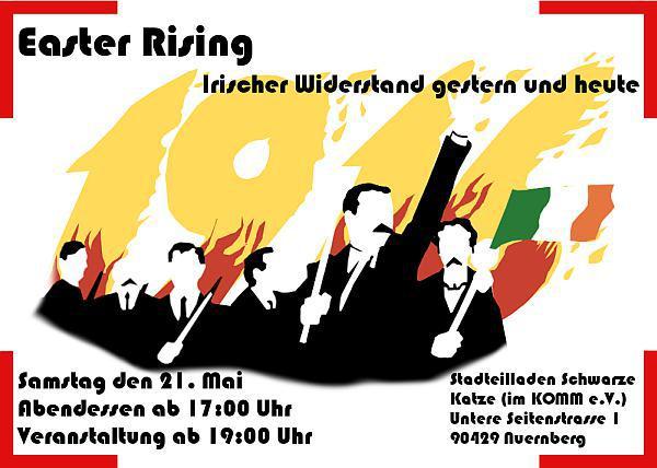 Foto der Postkarte zur Irland Veranstaltung