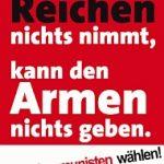 NRW - Wahlplakat der DKP