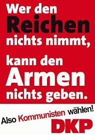 Wahlplakat der DKP