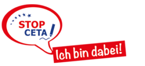 Logo der Bewegung für das Volksbegehren gegen CETA