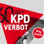 Banner: 60 Jahre KPD-Verbot