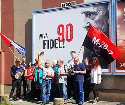 Foto: Treffpunkt mit Piccolo zu Ehren von Fidel Castro