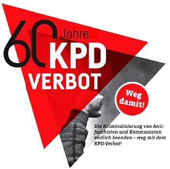 Logo: 60 Jahre KPD-Verbot
