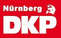 Logo der DKP Nürnberg - Die DKP Nürnberg zieht um!