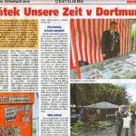 "Foto: Der Artikel aus der ""Haló noviny"""