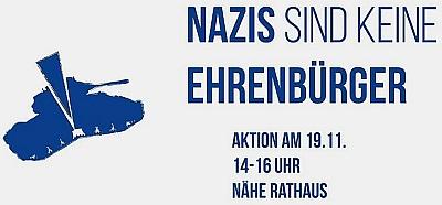 Bild: Den sofortigen Entzug der Ehrenbürgerschaft von Karl Diehl