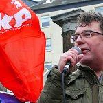 Photo: Patrik Köbele, Vorsitzender der Deutschen Kommunistischen Partei (DKP)