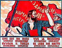 Bild: Termin-Kalender Komintern-Plakat