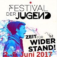 Banner: Festival der Jugend