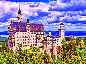 Bild: Nein, das ist nicht der Amtssitz vom Steinmeier, sondern der von einem bayrischen Vorgänger.