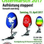 Plakat: Ostermarsch Ansbach