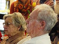 Bild: Erich Schreier auf der Veranstaltung 70 Jahre VVN