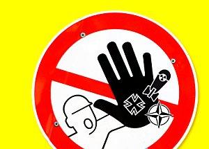 Bild: Atomwaffenstandort Büchel Banner