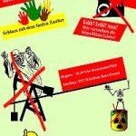 Plakat zum Klimagipfel