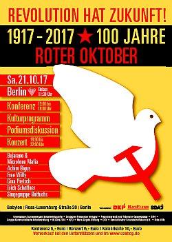 Plakat Oktoberrevolution