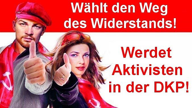 Slider: Werdet Aktivisten in der DKP!
