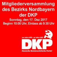 Banner: BezirksMV Nordbayern