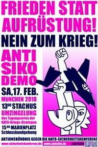 Plakat Sicherheitskonferenz