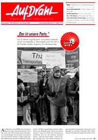 """Bild: Betriebszeitung """"Auf Draht"""" - Profite pflegen keine Menschen"""