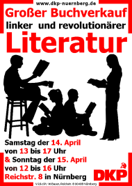 Bild: Buchverkauf im Roten Zentrum