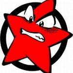 Bild: SDAJ-Stern - Erpressungsversuch nach AfD-Landesparteitag in Nürnberg