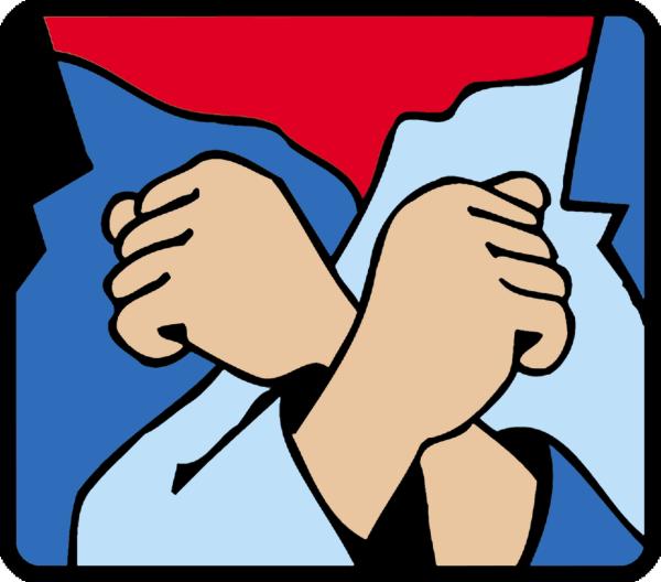 Logo der Roten Hilfe - Mit Beschluss vom 17. Juli hat das OLG München die erst vor drei Wochen in Vollzug gesetzten Haftbefehle gegen die Angeklagten Dr. Aydin, Dr. Banu Büyükavci und Herrn Solmaz erneut außer Vollzug gesetzt.