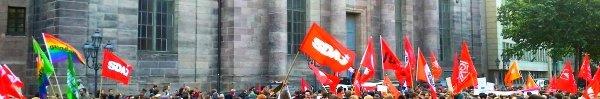 Bild: Abschlusskundgebung der PAG-Demo vom 15. Mai