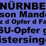 Banner: Gegen den AFD-Landesparteitag