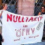 Bild: VGN Aktion vor dem Rathaus