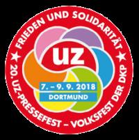 Logo: 20. UZ-Pressefest