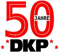 Banner: 50 Jahre DKP
