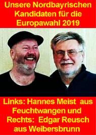 Banner: Kandidaten zur EU-Wahl 2019