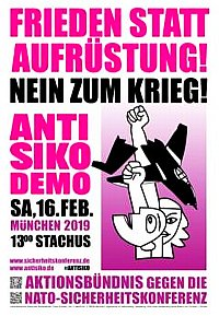 Plakat: Anti-SIKO-Demo