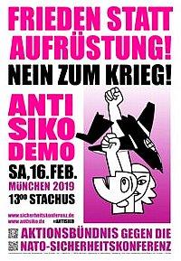 Plakat: Anti-SIKO-Demo