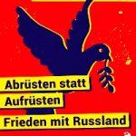 Plakat: Frieden statt EU!