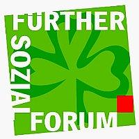 """Logo Sozialforum: """"Gemeinsam gegen Verdrängung und Mietenwahnsinn"""""""