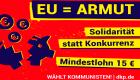 Slider: EU-Wahl - EU ist Armut!