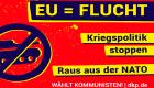 Slider: EU-Wahl - EU ist Flucht!
