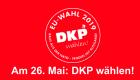 Slider: EU-Wahl - Am26. Mai DKP wählen