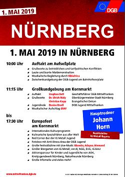 Plakat DGB - Mai 2019