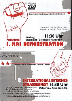 Plakat Gostenhof Mai 2019