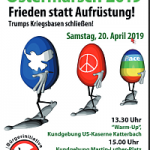 Plakat: Ostermarsch in Ansbach