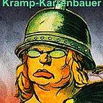 Karrikatur: Kramp-Karrenbauer