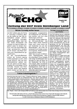 Bild: Kleinzeitung Pegnitzecho