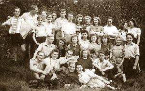 Bild: Erich Schreier 1951 bei einem Ausflug der FDJ Bochum
