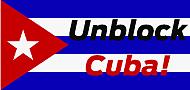 Banner: Unblock Cuba