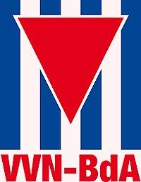 Banner: Solidarität mit der VVN-BdA