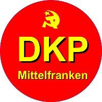 Schild: DKP Mittelfranken