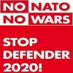 Banner: No Defender 2020